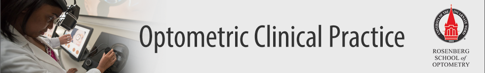 Optometric Clinical Practice
